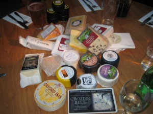 Stash from the cheese festival
