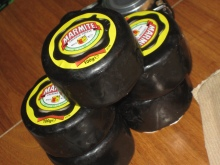 Stack of 5 marmite cheeses