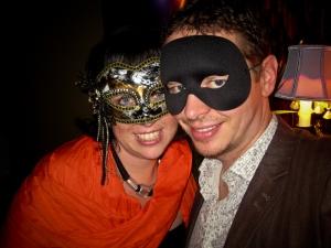 Burglar and mask