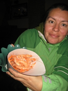 Mish offers up the Gambas Blanca