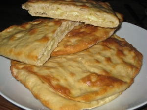 Home made naan breads