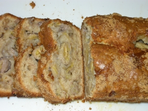 Home made banana bread