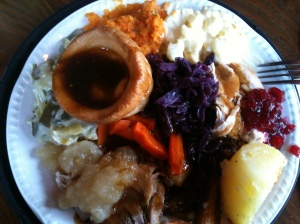 Carvery meal