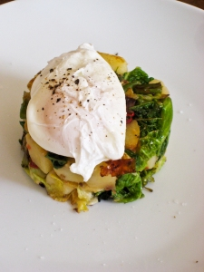 Bubble & Squeak stack