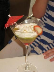 Fizzy cocktails