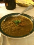 Green mutton Curry