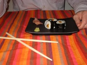 All sushi'ed up