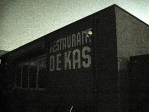 The outside of De Kas in Amsterdam