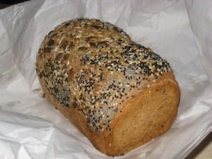4 flours, seedy loaf