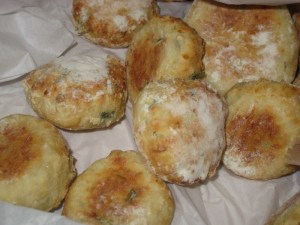 Rosemary and Parmesan Soda bread scones