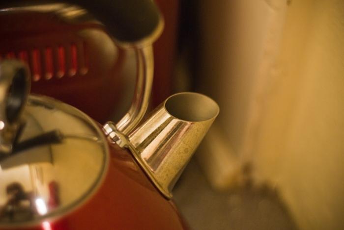 Steamy kettle