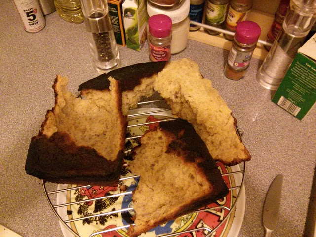 Banana Bread - a decanting fail