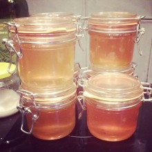 mulled spiced quince jelly