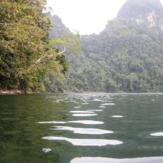 Fresh water lake in a Langkawi island