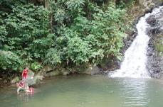 Durian Perangin waterfall Langkawi