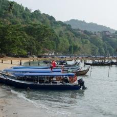 Langkawi boats