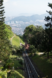 Penang Hill for afternoon tea