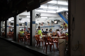 Penang dim sum at night