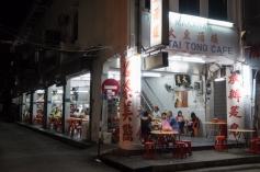 Penang Street food at night