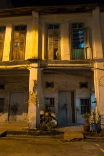 Penang Streets at night