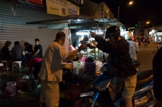 Penang Street food at night