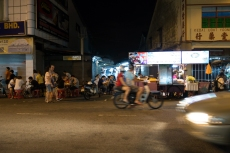 Penang Streets at night
