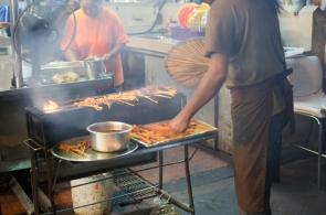 Satay at Gurney Drive Market, Penang