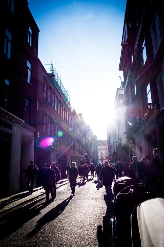 Soho streets, London