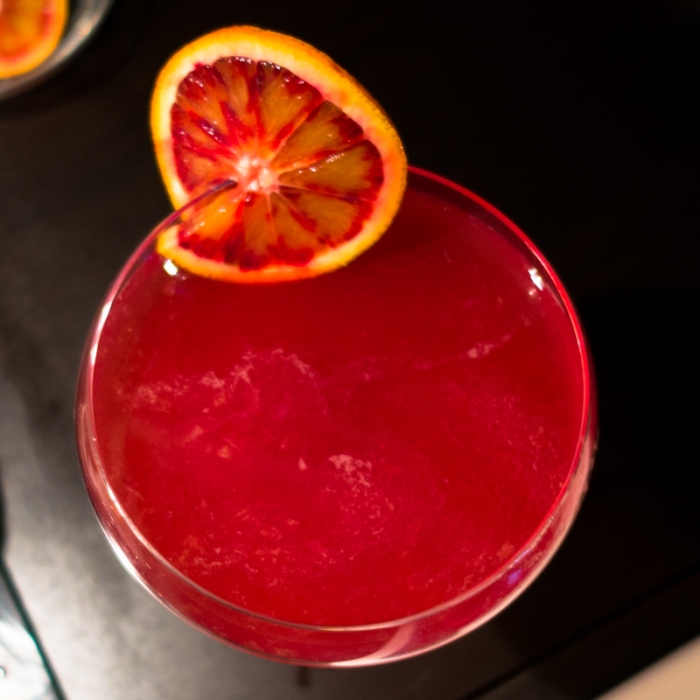 Blood Orange Ward One Cocktail