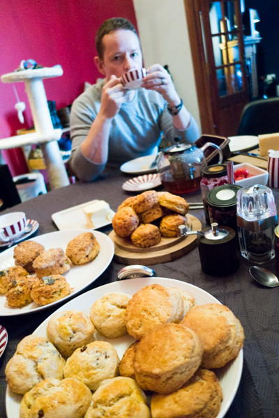 Table of scone-delight