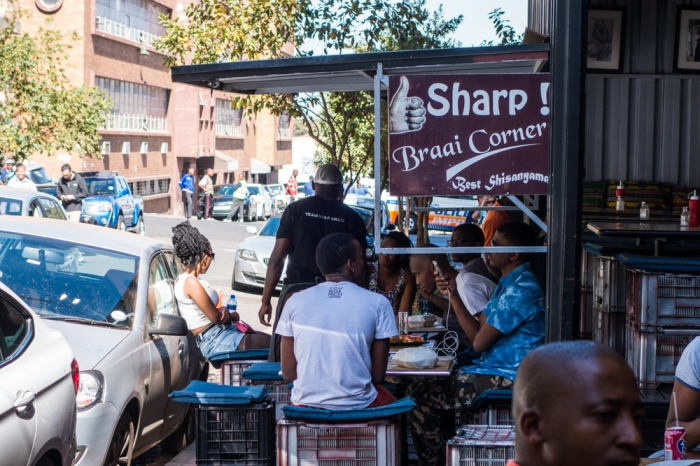Braai Corner in the Maboneng Precinct