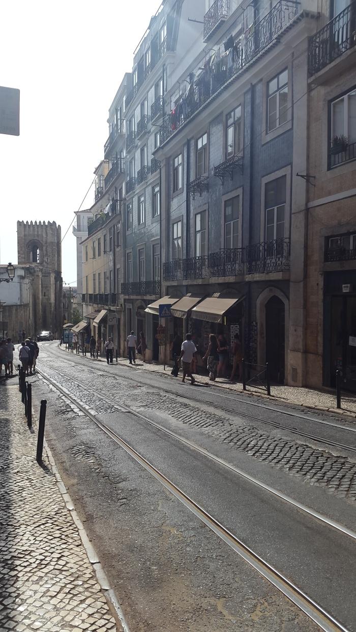 Streets in Alfama